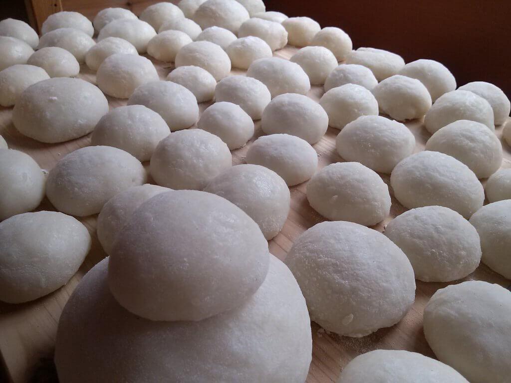 ベランダでできる、バケツ稲の育て方(収穫したお米でついたお餅)
